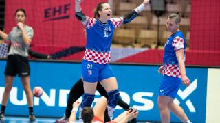 Хандбалистките на Хърватия с първи бронз от Европейско първенство