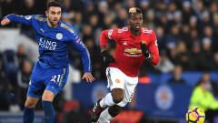 Лестър - Ман Юнайтед 2:2, Магуайър с късен изравнителен гол