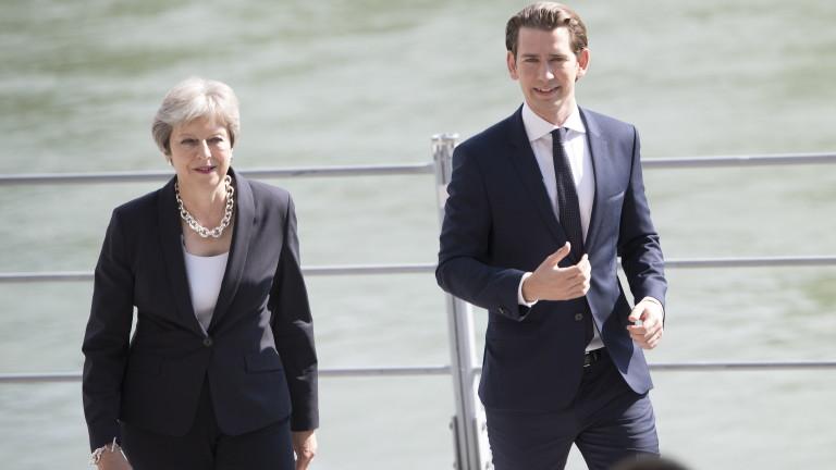 Споразумението за Брекзит е на 95% готово, обяви Тереза Мей