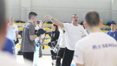 Висок интензитет на предпоследната тренировка от KWU лагера