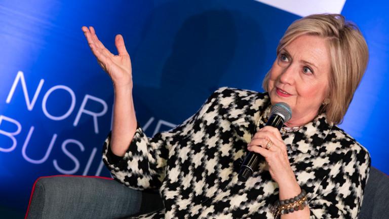 Хилари Клинтън: Китай, ако слушате, защо не вземете данъчните декларации на Тръмп