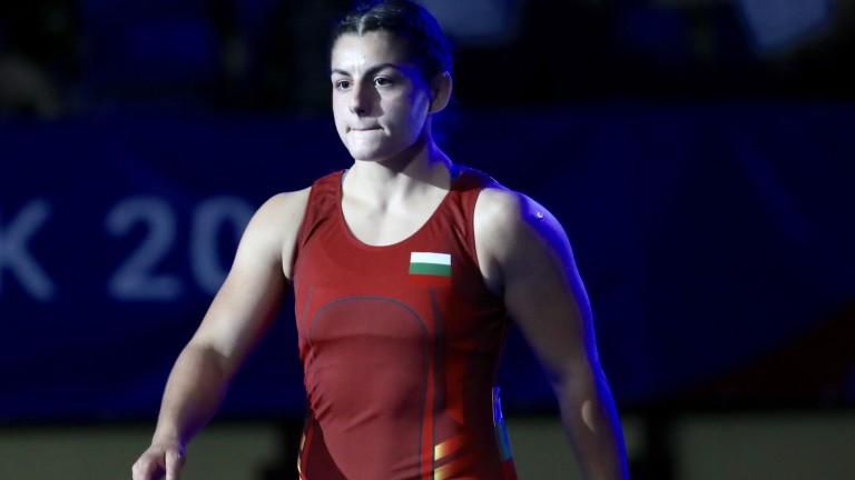 Загуба за София Георгиева на старта на Европейското първенство по борба
