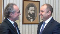 Президентът разговаря с Лозан Панов за промени в Конституцията