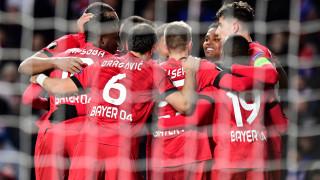 Байер (Леверкузен) със сериозна крачка към четвъртфиналите в Лига Европа