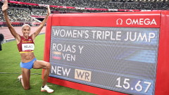 Юлимар Рохас е олимпийска шампионка със световен рекорд