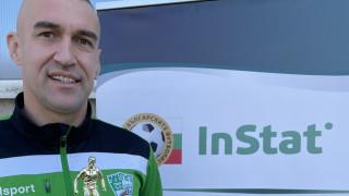 Мартин Камбуров е Футболист №1 за февруари според InStat