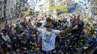 Стотици хиляди отпразнуваха титлата на Голдън Стейт