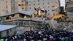 Спасиха жена шест дни след срутването на сграда в Кения
