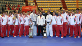 Грандиозен успех за България на Европейското по Шотокан Карате До
