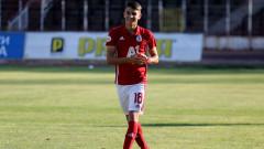 Мартин Смоленски остава в ЦСКА и през пролетния полусезон