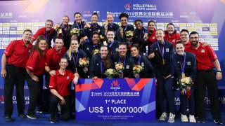 """Волейболистките на САЩ спечелиха и второто издание на """"Лигата на нациите"""""""
