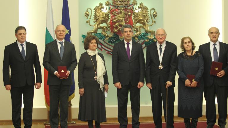 Президентът връчи ордени на дейци на образованието, науката, културата