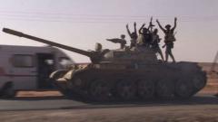 Бунтовниците превзеха Бани Уалид