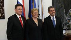 За енергийни връзки между държавите настоя Плевнелиев в Хърватска