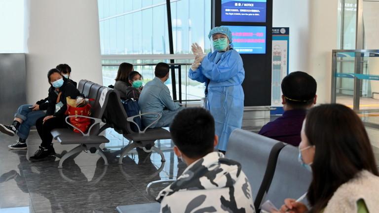 Китай регистрира първия случай на коронавирус на местно ниво за