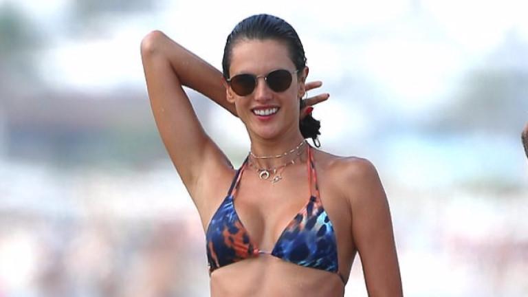 36-годишната Алесандра Амброзио показа изваяно тяло (СНИМКА)