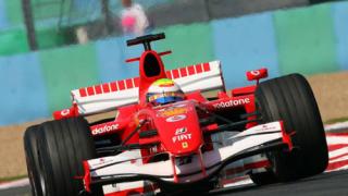 Първа редица за Ферари във Франция