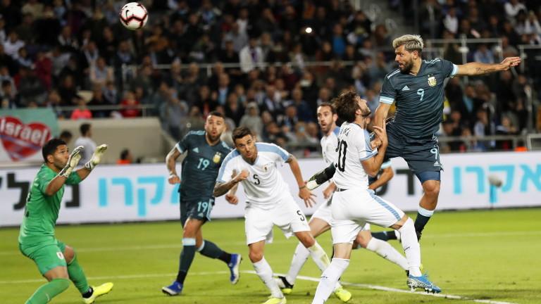 Селекциите на Аржентина и Уругвай не излъчиха победител в приятелски