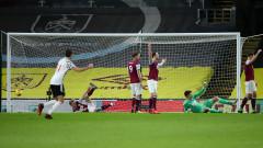 Манчестър Юнайтед надви Бърнли в екшън и излезе на първо място