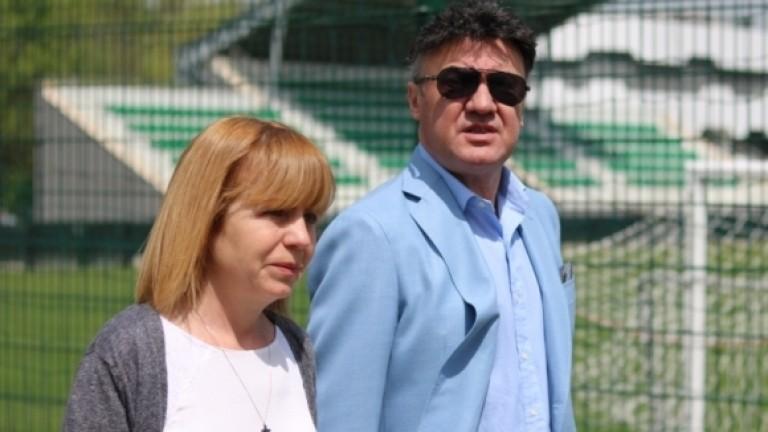 Боби Михайлов прие кмета на София на базата на националите в Бояна