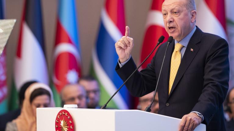Ердоган се озъби на САЩ за признаването на Голанските възвишения за част от Израел