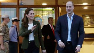 Как принц Уилям се пошегува с Кейт Мидълтън
