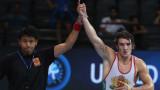 Даниел Александров се класира за финал на европейското по борба!