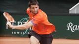 Александър Лазов на 1/2-финал на Държавното първенство в зала
