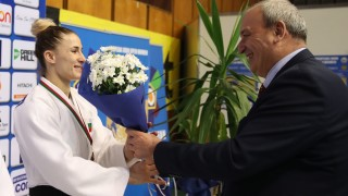 Зам.-министър Стоян Андонов участва в откриването на Европейската отворена купа по джудо за жени