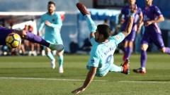 Барса на 11 точки пред Реал, Суарес с нови два гола