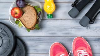 Храната и напитките преди, по време и след тренировка