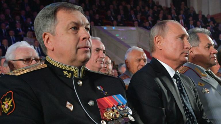 Вицеадмирал Игор Костюков е назначен за ръководител на Главната дирекция
