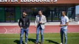 Жуниор Кайсара посети бившите си съотборници от Лудогорец