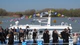 Пуснаха първия ни хидрографски кораб в река Дунав
