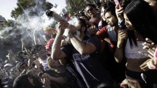 Хиляди поискаха легализация на марихуаната в Чили