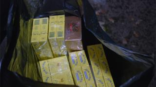 Иззеха над 2000 кутии контрабандни цигари в София