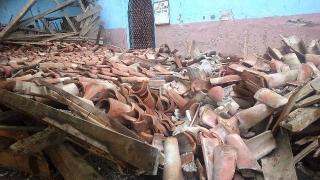 Комисия оглежда срутилия се храм в село Черноземен