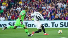 Барселона - Валенсия 0:2, голове на Гамейро и Родриго
