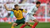 Англия - Литва 2:0 (Развой на срещата по минути)