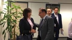Лаура Коьовеши идва в България през март, Нинова я кани на среща