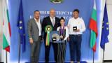 Министър Кралев награди Ая Митева за историческия успех в българския конен спорт