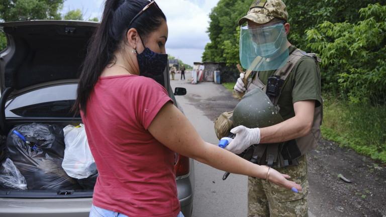 Украйна отчете рекорден брой заразени и починали от коронавирус