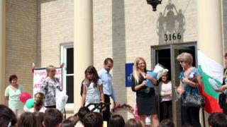 """Откриха годината в българското училище """"Джон Атанасов"""" в Чикаго"""
