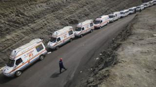Извадиха 16 тела от мина в Китай