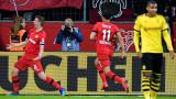 Байер (Леверкузен) победи Борусия (Дортмунд) с 4:3 в Бундеслигата
