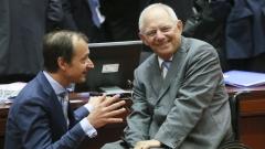 Германия не вижда четвърти спасителен пакет за Гърция, обяви Шойбле