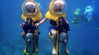 Да яхнеш мотор под водата