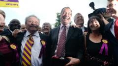 Партията на Фараж печели евроизборите във Великобритания?
