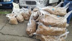 Иззеха 100 кг нелегален тютюн от автомобил в Монтанско