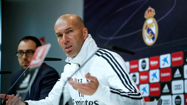 Зидан: Всички в Реал (Мадрид) очакват повече от Азар